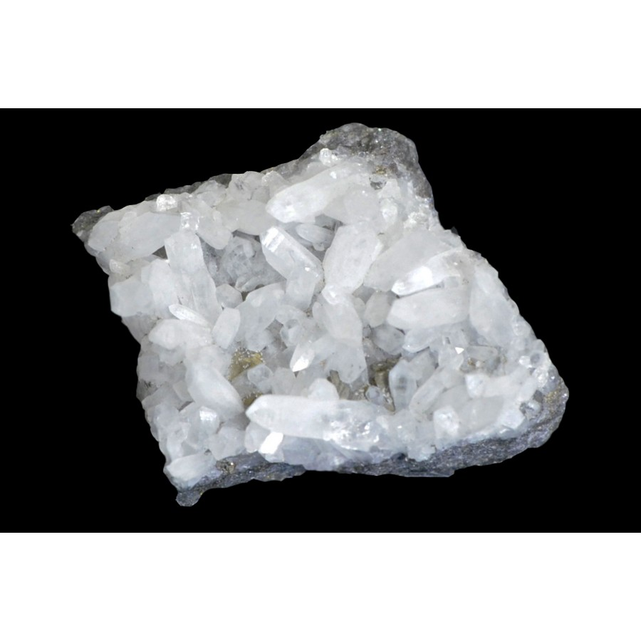 Quartz on Galena