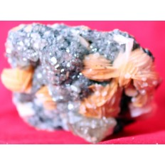 Cerrusite On Baryte - SKU_A_2922